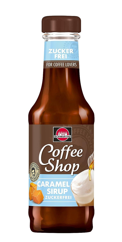 Schwartau Coffee Shop Caramel zuckerfrei, 200 ml: Amazon.de ...