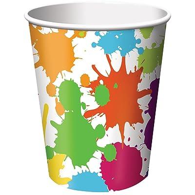 Art Party 9oz Paper Cups (8ct)