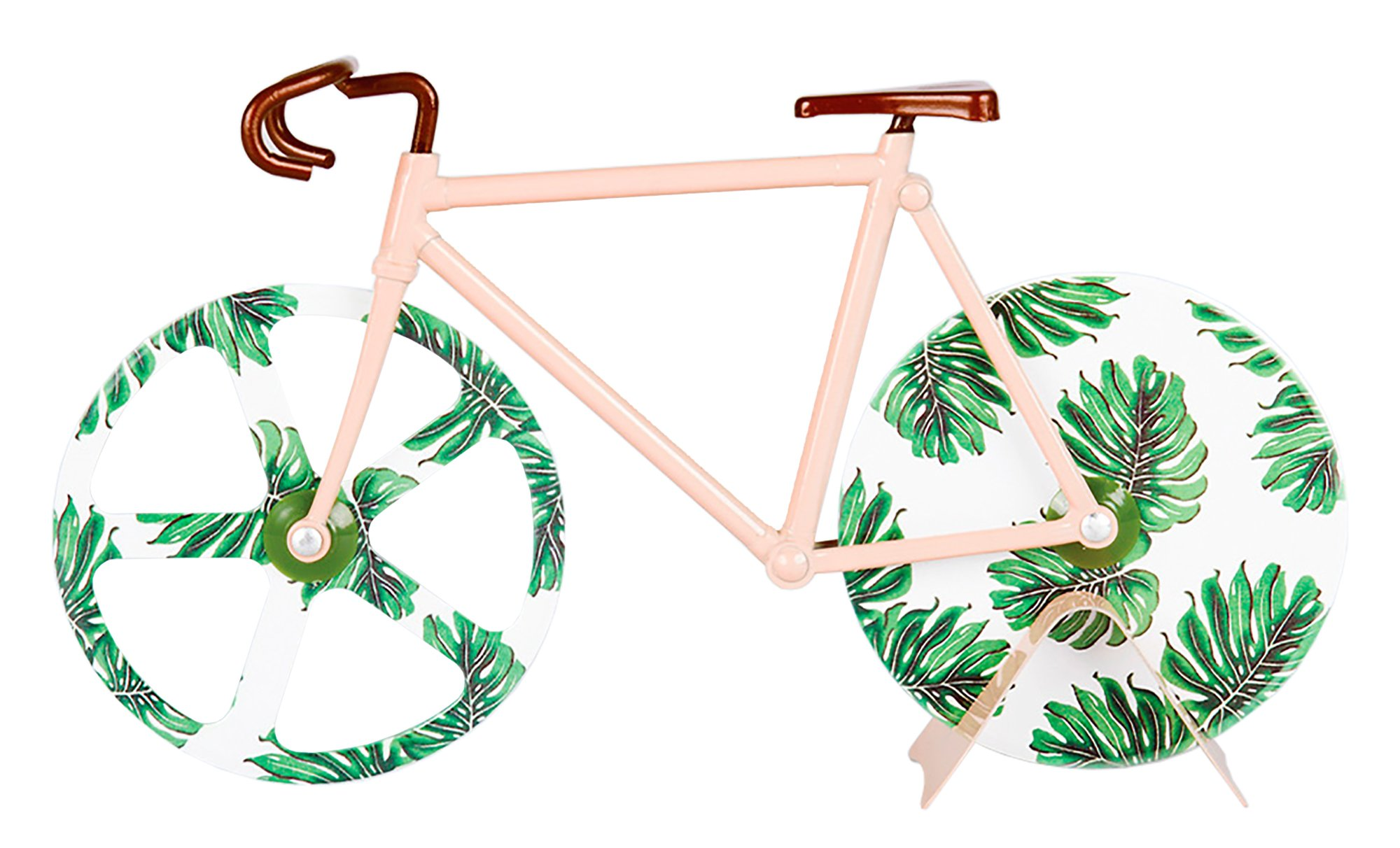 doiy Fixie Bicycle Pizza Cutter Bike (Tropical Vintage)
