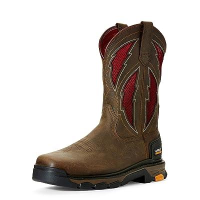 ARIAT Men's Intrepid Venttek Lightning Work Boot | Industrial & Construction Boots
