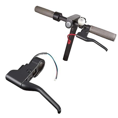 Atuka Scooter Manija de Freno Palanca de Freno Repuestos Kit de Montaje de Freno Manija Piezas de Repuesto para Xiaomi Mijia M365 Scooter eléctrico