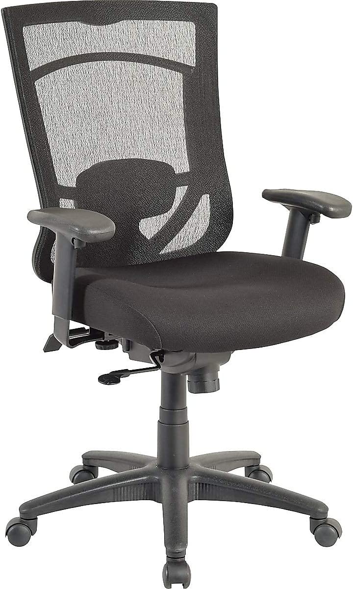 Tempur-Pedic 1539761 Tempur-Pedic Mesh Back Fabric Task Chair Black (TP7000-RAV/COAL)