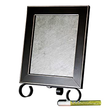 Amazon.com: Cohas Framed Real Slate 10 1/2 by 14 1/4 Inch Tabletop ...