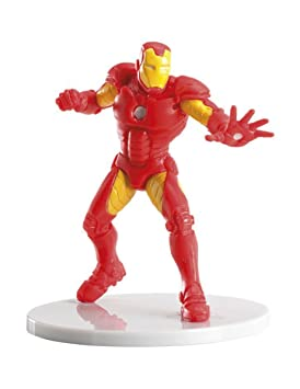 Decoración para tarta para con licencia Iron Man Marvel Vengadores Dekora W505