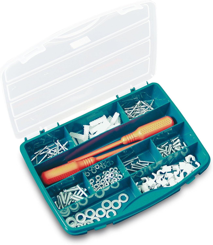 Tayg Estuche con separadores fijos n. 21-10, verde, 256 x 192 x 42 mm.: Amazon.es: Bricolaje y herramientas