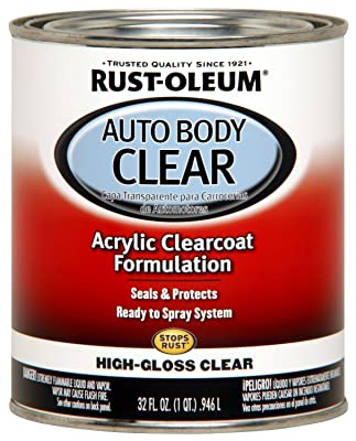 Rust-Oleum 262178 Gloss Clear Automotive Auto Body Clear Coat