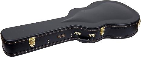 Crossrock CRF1000 - Funda rígida para guitarra, fibra de vidrio, color negro: Amazon.es: Instrumentos musicales