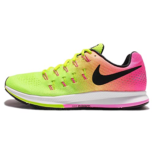 Fragante Medicina virar  Buy Nike Men's AIR Zoom Pegasus 33 OC Multi-Color Running Shoes-6  UK/India(40EU) (846327-999) at Amazon.in