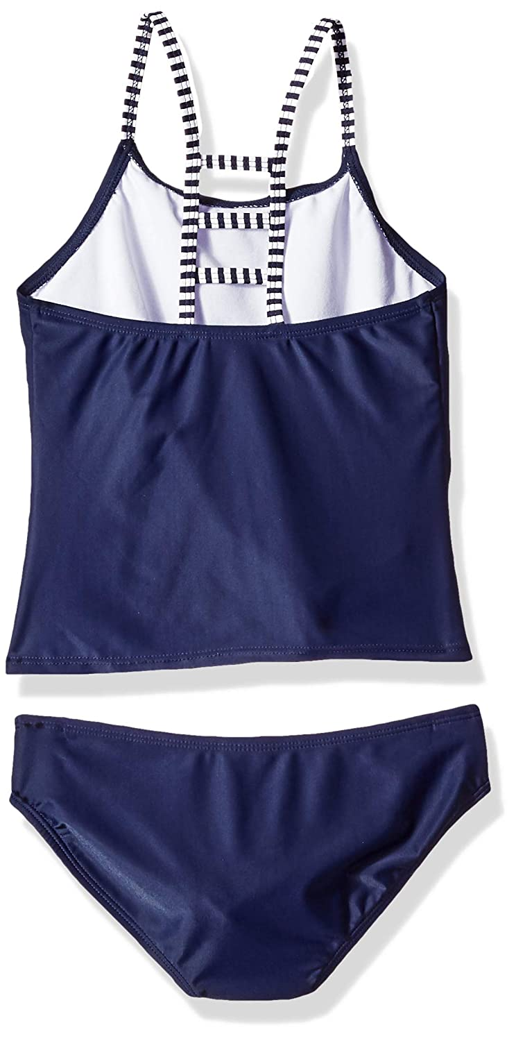 Rivstar Girls Big Beach Please Tankini Swim Set 2pc