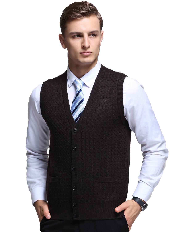Best Deals On Mens Button Sweater Vest - SuperOffers.com