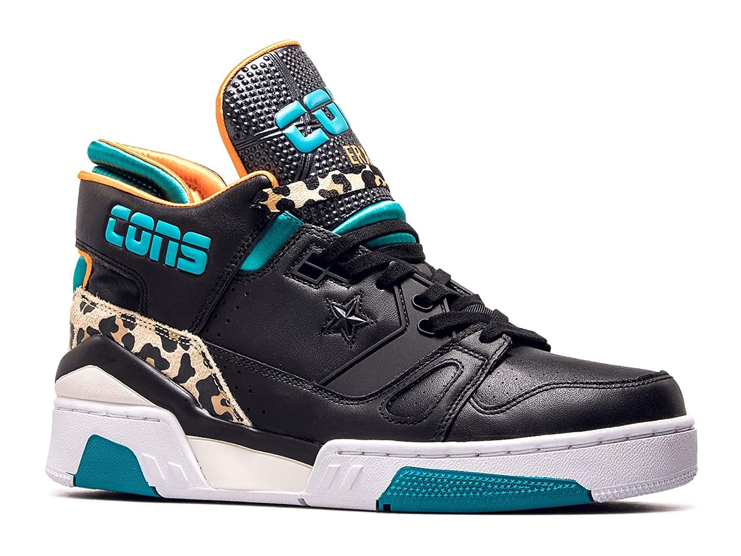 Converse ERX 260 Mid schwarz Teal Orange