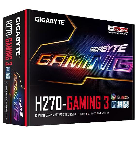 GIGABYTE GA-H270-Gaming 3 LGA1151 Intel 2-Way Crossfire ATX DDR4 Motherboard