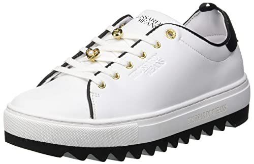 Trussardi Jeans Sneakers Pins And Faux Pearls 9322856be59