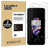 iVoler [2 Pack] Pellicola Vetro Temperato per Oneplus 5 [Garanzia a Vita], Pellicola Protettiva, Protezione per Schermo