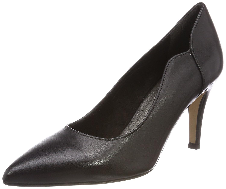 Schwarz(schwarz Leather) Tamaris Damen 22472 Pumps