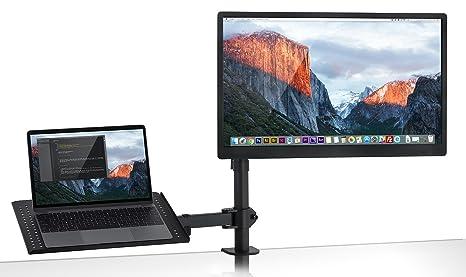 Mount-It. mi-4352ltmn portátil soporte de escritorio y soporte para Monitor, movimiento completo altura ajustable ...