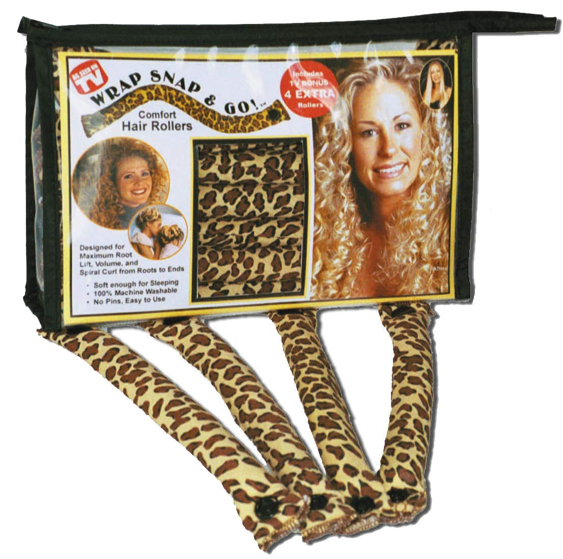 Wrap Snap N Go Hair Rollers by Wrap Snap and Go