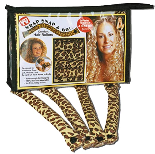1940s Hairstyles- History of Women's Hairstyles Wrap Snap N Go Hair Rollers $12.95 AT vintagedancer.com