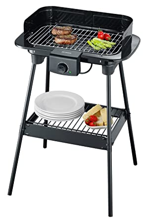 Severin PG 8544 Barbacoa Grill, 2300 W, Cable eléctrico 1,40 m,