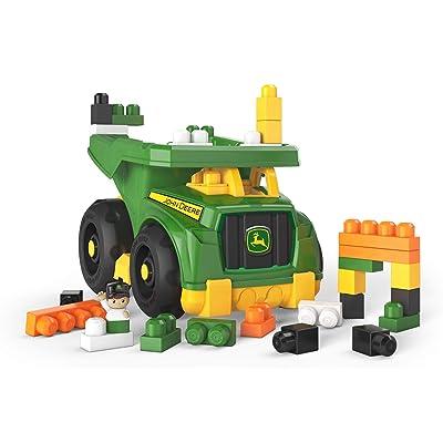 Mega Bloks John Deere Dump Truck: Toys & Games