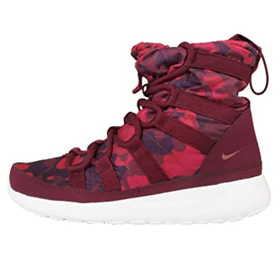 dpucx Womens Nike Roshe One HI PRNT Sneakerboots 807425 600 UK 4.5 EUR