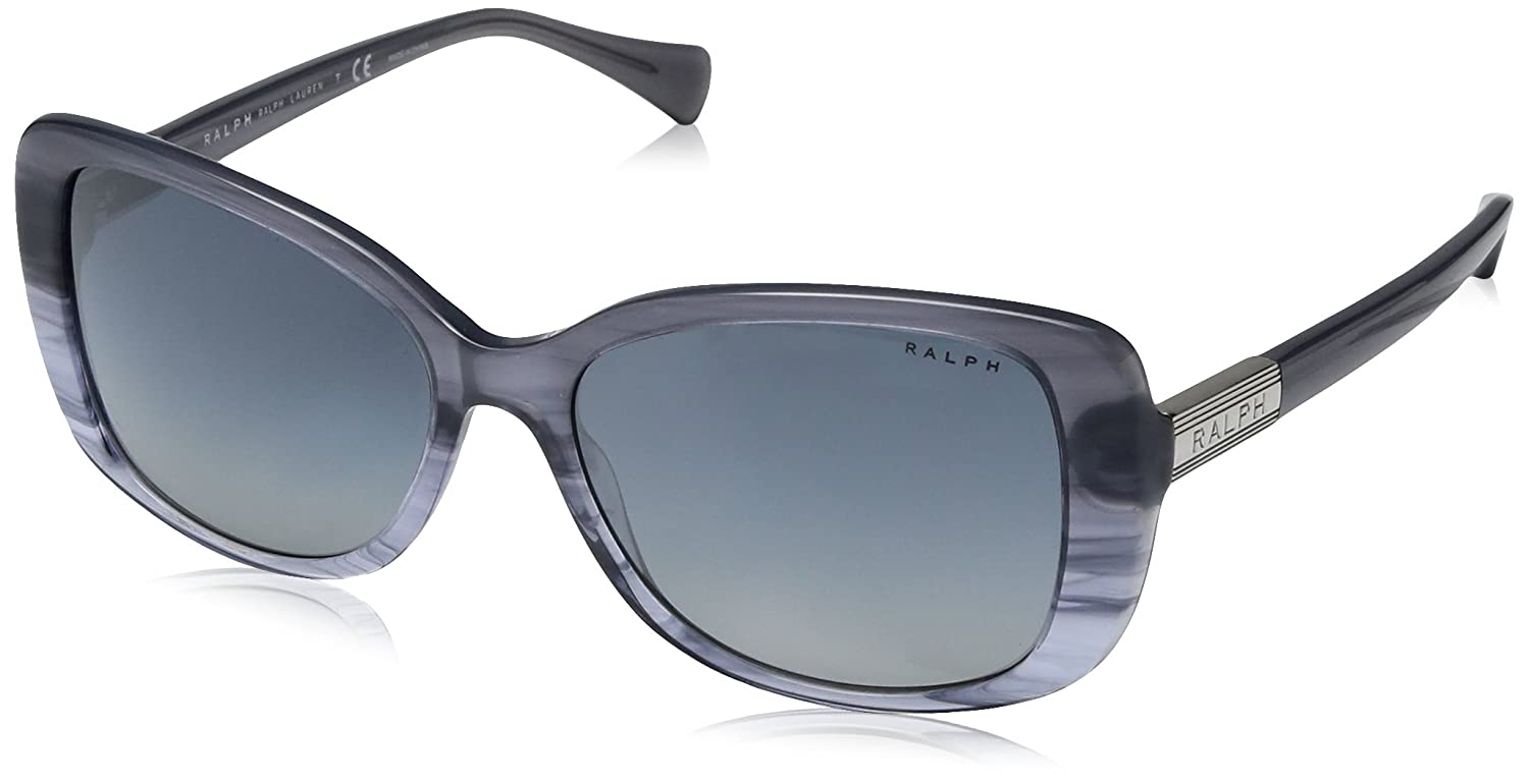 bluee Horn Gradient  bluee Ralph Women's RA5223 Sunglasses