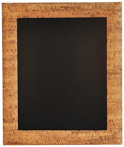 Securit - Pizarra para tiza (47 x 57cm, con marco de corcho ...