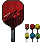 Gamma Sports 2.0 Pickleball Paddles: USAPA Approved, Textured Graphite or Fiberglass Surface, Honeycombed Aramid Core, Durabl