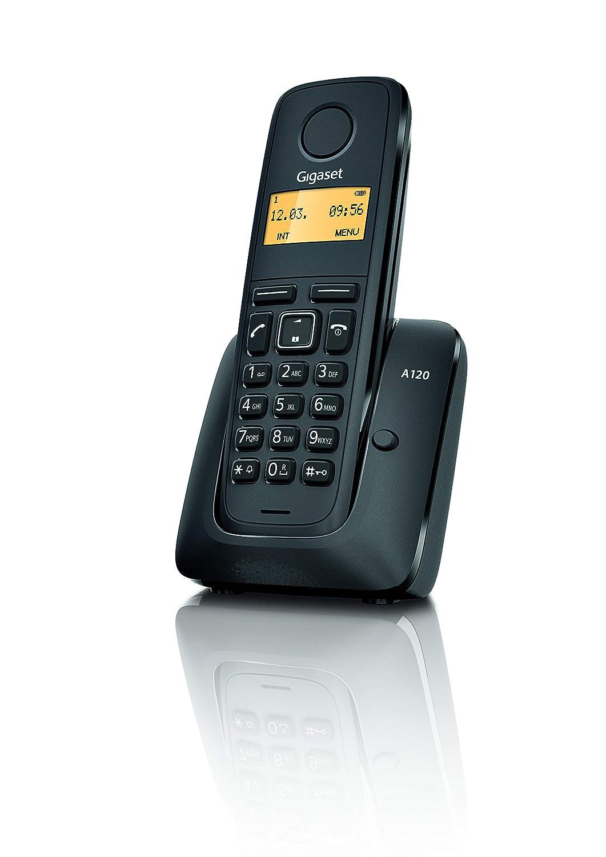 Gigaset A120 Duo Teléfono inalámbrico, Agenda de 50 contactos.