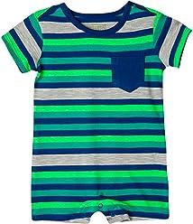 OFFCORSS Baby Boy Cotton Romper Newborn Summer Set | Ropa de Vestir Bebe Niño