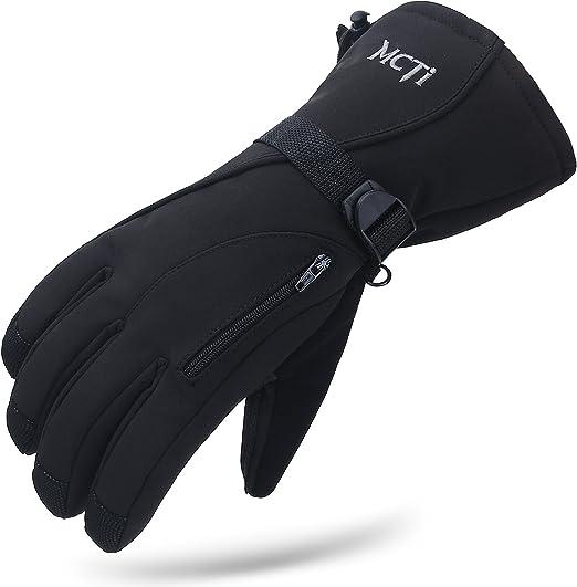 Windproof Waterproof Winter Snow Ski Thermal Gloves Snowmobile Outdoor Gloves