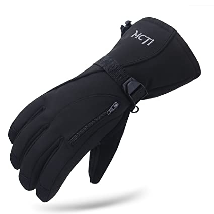 Sports & Entertainment Waterproof Men\s Ski Gloves Snowboard Snowmobile Motorcycle Riding Winter Snow Mittens Windproof Cycling Gloves New