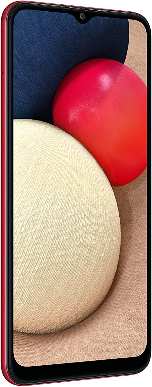 Samsung Galaxy A02s SM-A025M Dual Sim - International Version (CDMA Verizon/Sprint Not Supported) No Warranty (Red, 64GB)