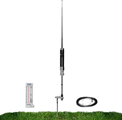 Super Antena MP1DXG HF Antena Portátil con Soporte Tierra Jamonero Radio Amateur Mochila