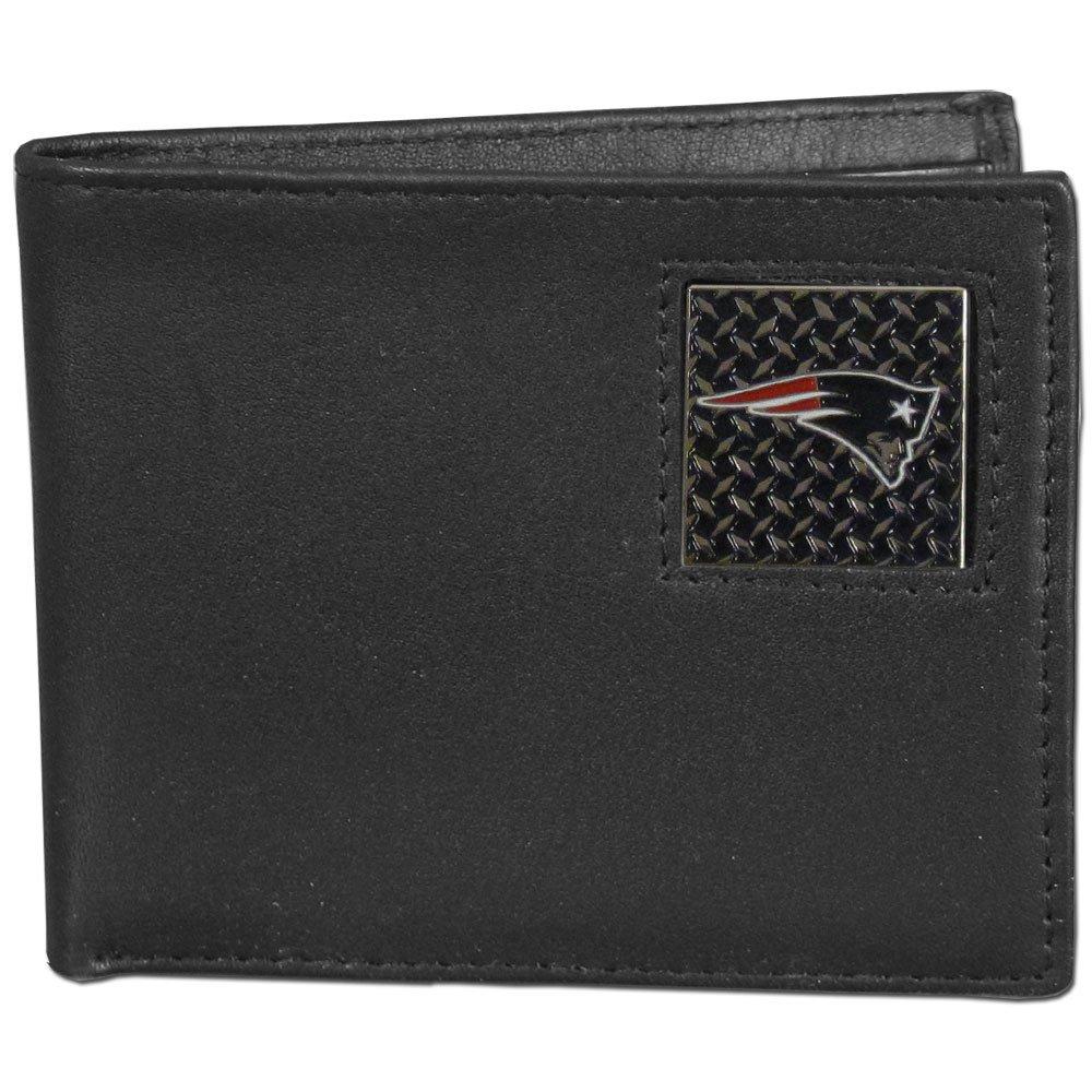 NFL New England Patriots Gridiron Leather Bi-Fold Wallet Siskiyou Gifts Co Inc. FBID120