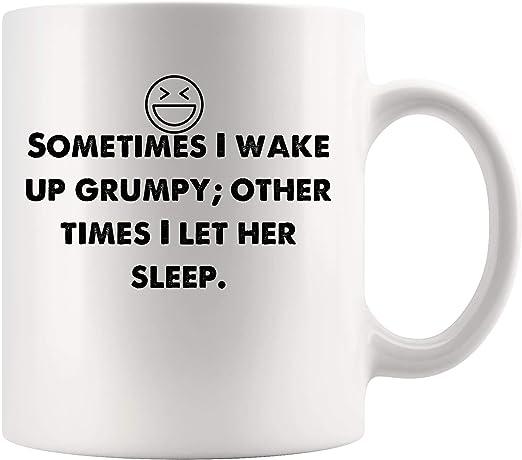 Wake up Grumpy coffee mug