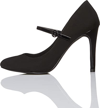 Marca Amazon - find. Zapatos de Salón Mary Jane Mujer