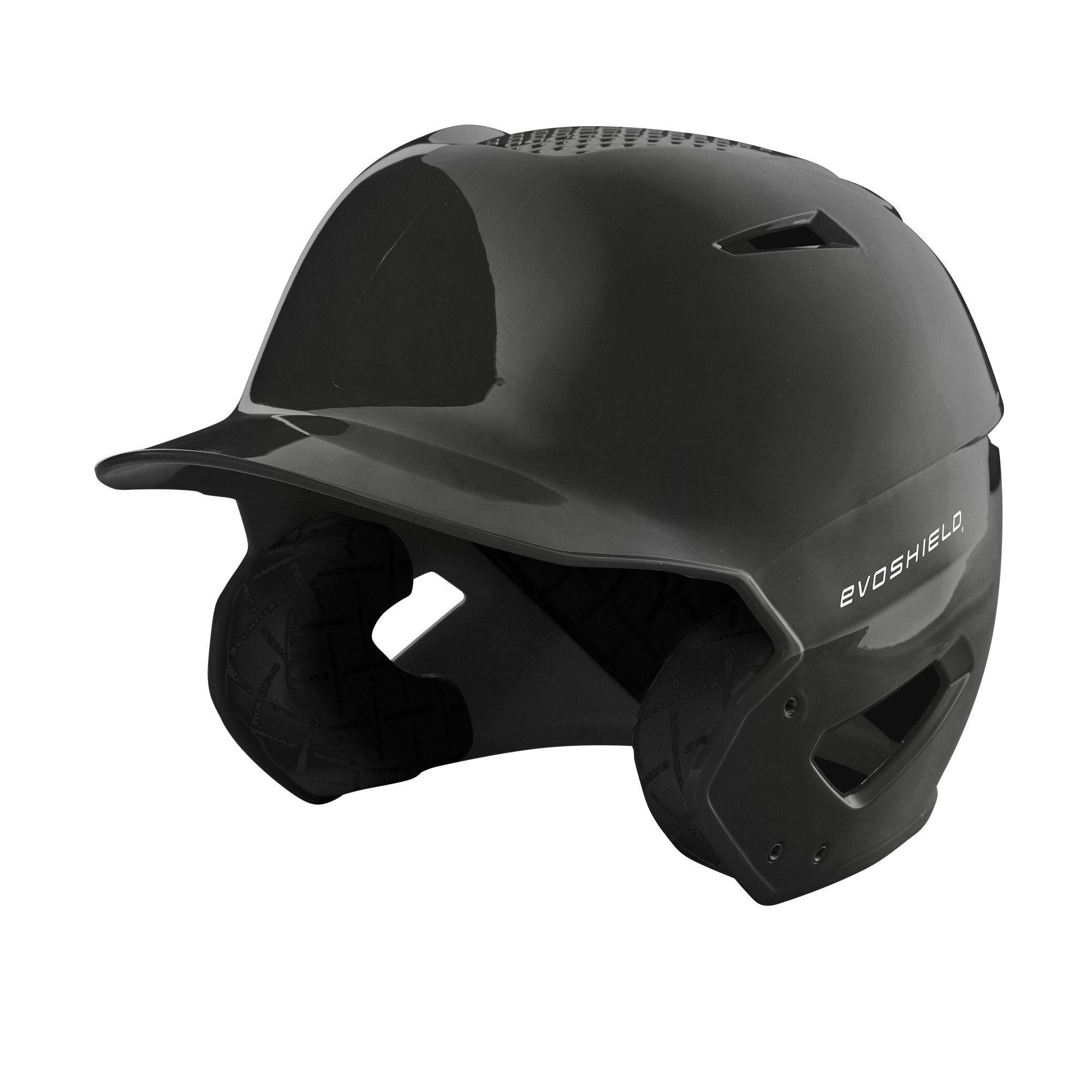 EvoShield XVT Batting Helmet, Black - S-M by EvoShield