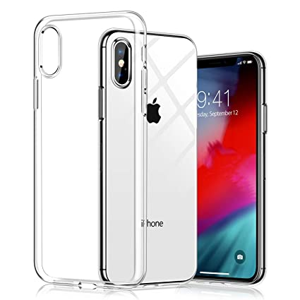 Newlike Clear Thin Back Case Cover for iPhone XS Max  Amazon.in  Electronics a98615a51c