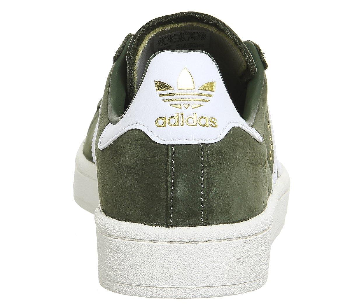Adidas Damen Damen Adidas Campus W Sneakers Grün (St Major F13/Ftwr Weiß/Chalk Weiß) 5b0eb1