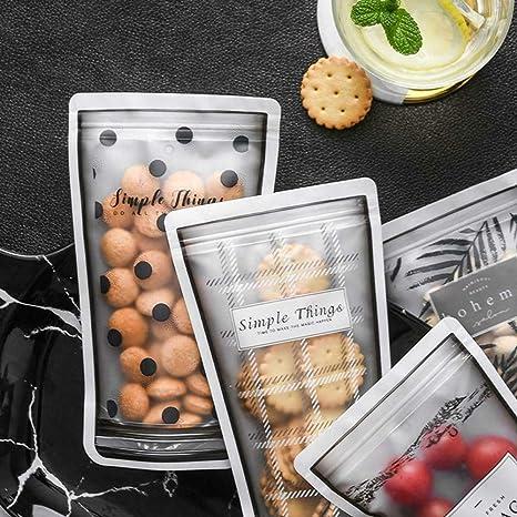Huiqule 8 Piezas de plástico Reutilizable al vacío Alimentos ...