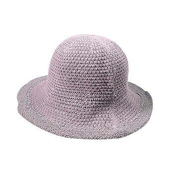 2749e5437 Summer Beach Sun Hats For Women, Hot Sale! Iuhan Open Knit Trim Vented  Cotton