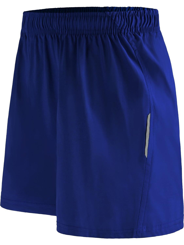 Neleus メンズドライフィットショーツ ポケット付き B071CX35X7 L,6052# Blue