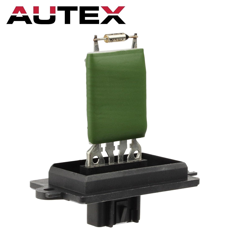 AUTEX HVAC Blower Motor Resistor Module 5143127AA RU488 973028 Replacement for 2005 2006 2007 Jeep Commander 2005 2006 2007 Jeep Grand Cherokee