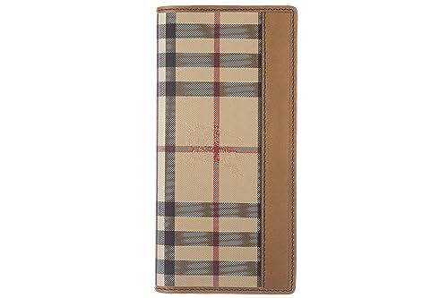Burberry cartera billetera bifold de hombre nuevo Cavendish marrón: Amazon.es: Zapatos y complementos