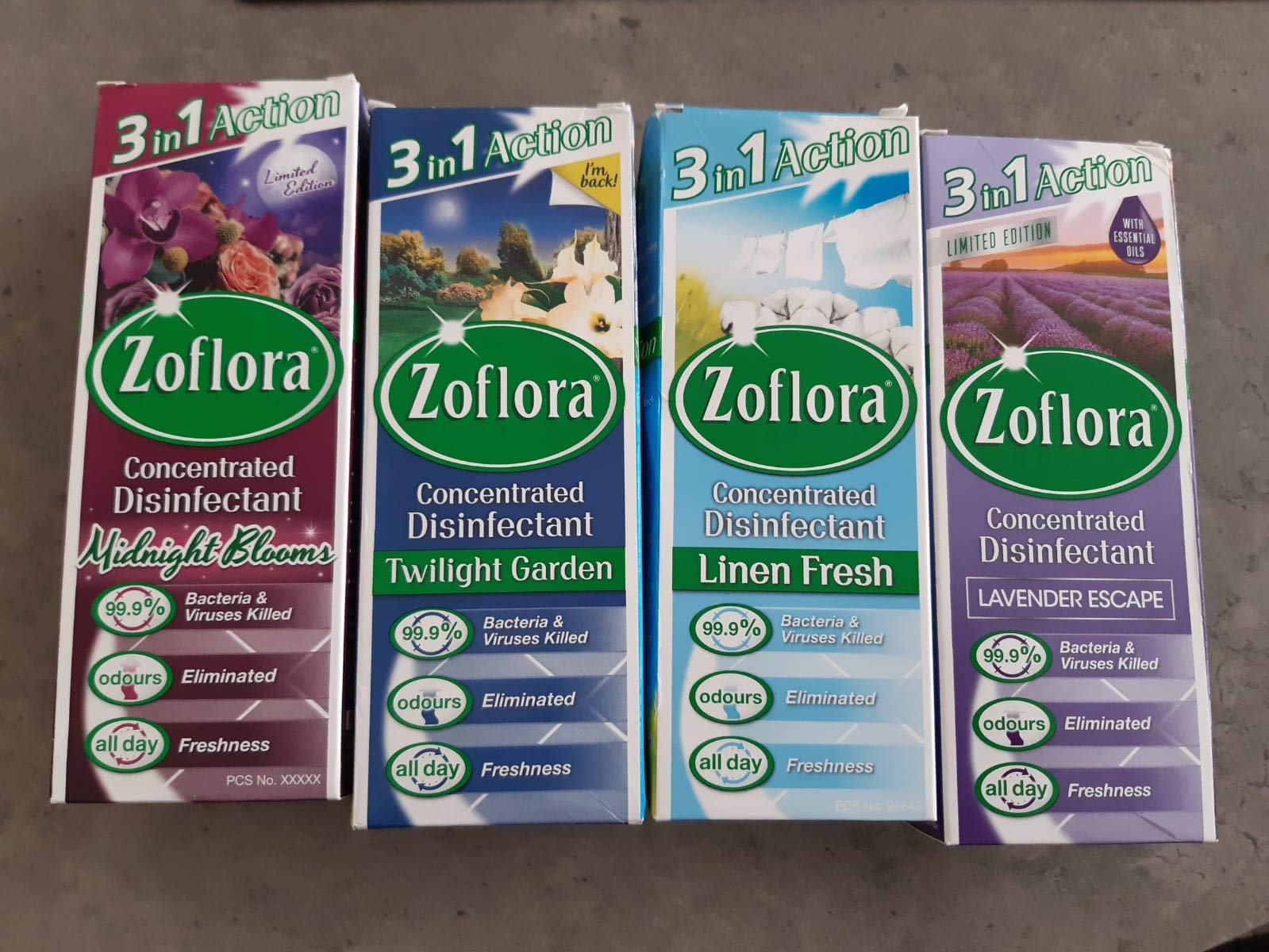 Zoflora Antibacterial Disinfectant Fragranced 120ml Twilight Garden