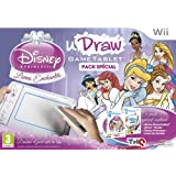 uDraw GameTablet + uDraw studio + Disney Princesse : livre enchantés