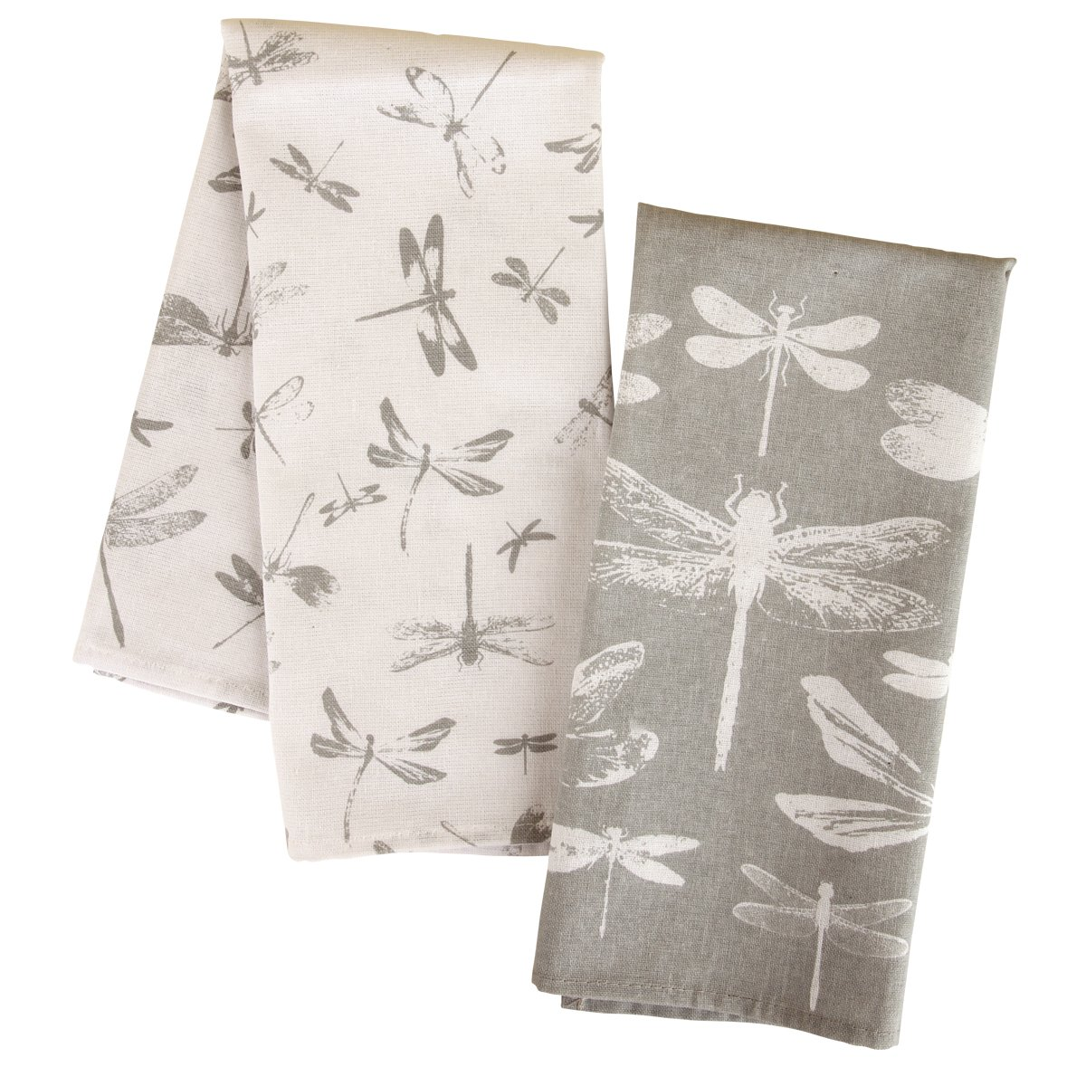 Amazon.com: Karma Gifts Tea Towels (Set of 2), Dragonfly: Kitchen ...