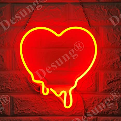 "New Purple Love Make My Heart Melt Acrylic Neon Light Sign 14/"""
