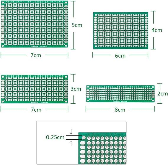Senza saldatura PROTOTIPO BASETTA varie dimensioni Maglione opzionale 65x fili